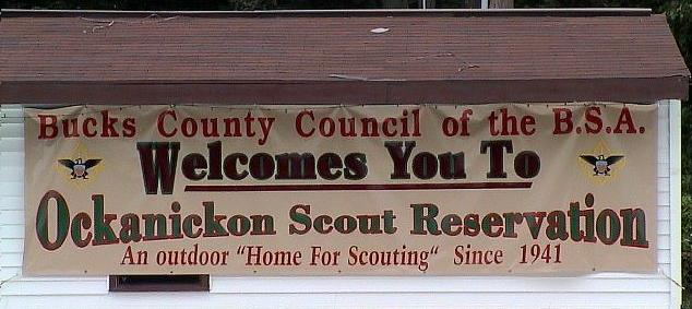 Welcome to Ockanickon Scout Reservation